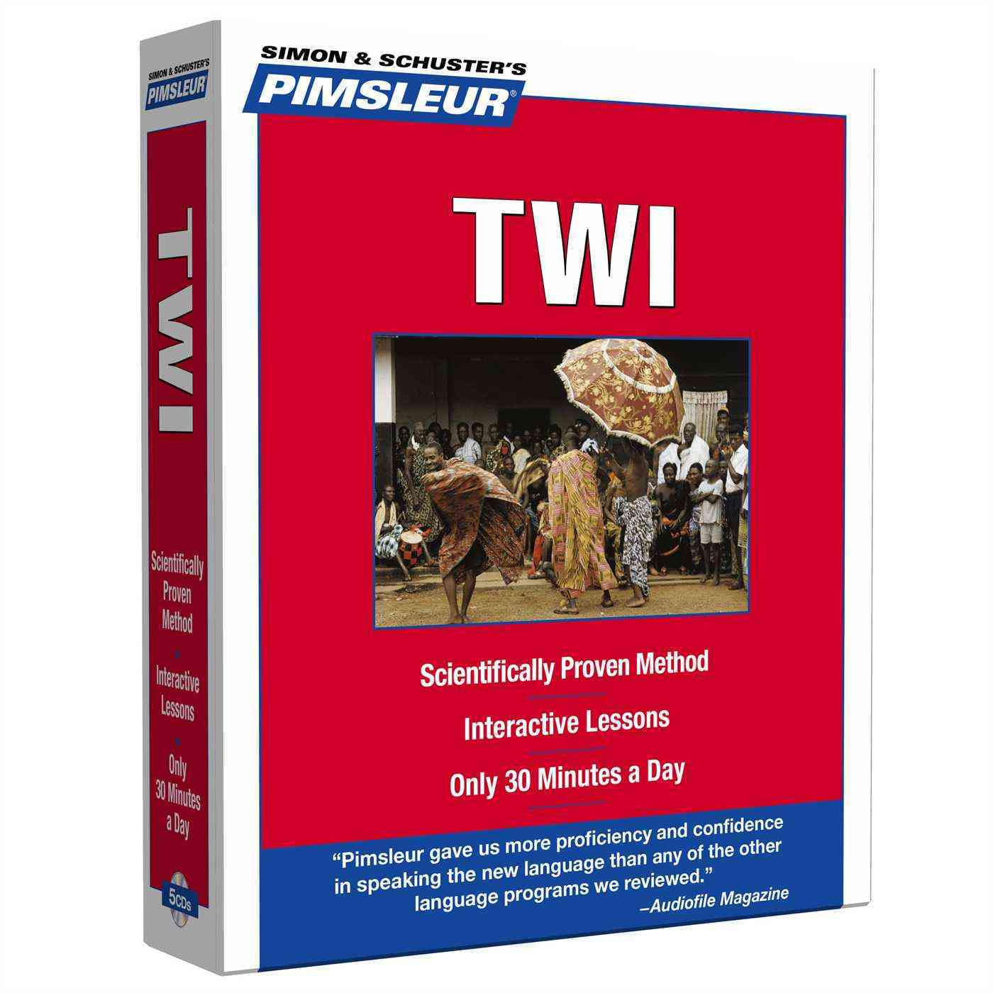 [CD] Pimsleur Twi By Pimsleur (COR)